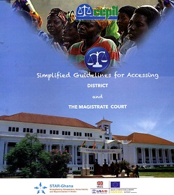 Simplified Guidelines for Accessing District and Magistrate Court